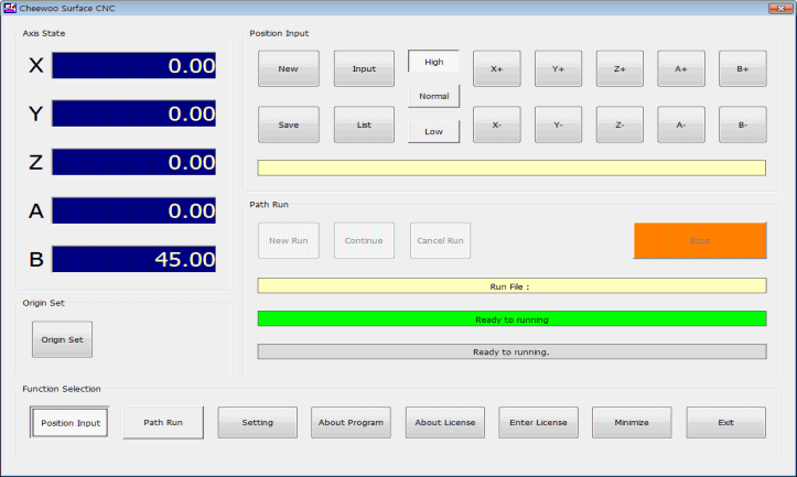 Make 5 Axis CNC controller by combining this software, PC and CLIPPER controller